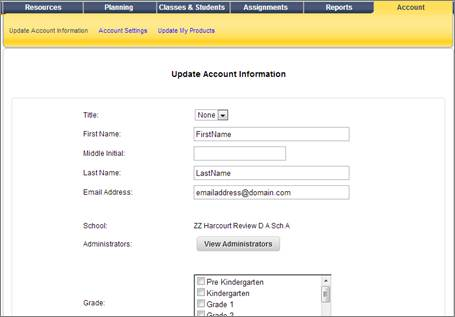 Teacherhelp2014 update your account fandeluxe Image collections