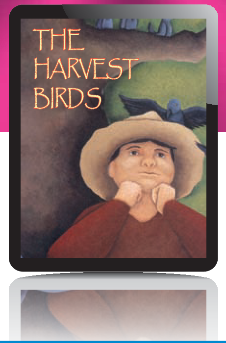 Book cover for The Harvest Birds.